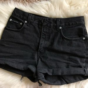 Pants - Vintage High Waisted Mom Jean Shorts